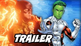 The Flash 4x14 Promo and Titans Beast Boy Team Explained