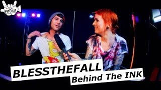 BLESSTHEFALL - Behind The Ink w/ Beau Bokan // PitCam.TV