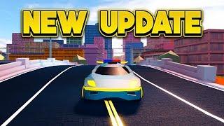 INSANE NEW GRAPHICS UPDATE! (ROBLOX Jailbreak)