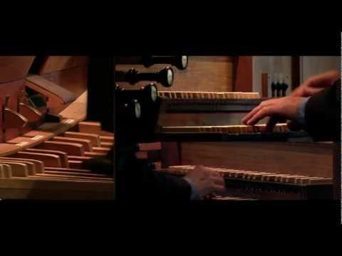 Wachet auf, ruft uns die Stimme (Sleepers Awake, BWV 645); Rodney Gehrke, organ 4K HD Video