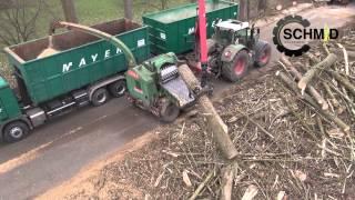 Lohnunternehmen Schmid Oberriexingen Holzernte