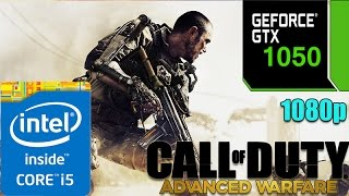 Call of Duty:  Advanced Warfare On GTX 1050 | Ultra Graphics | 1080p