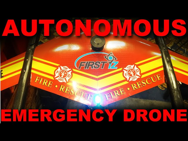 FIRST iZ: Autonomous Scout Drone for First Responders