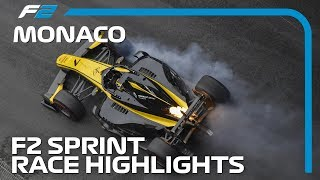 Formula 2 Sprint Race Highlights | 2019 Monaco Grand Prix
