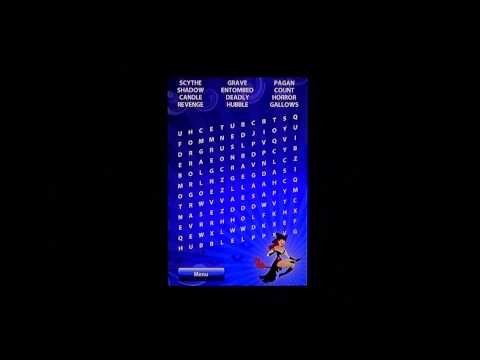 IOS Halloween Word Search review