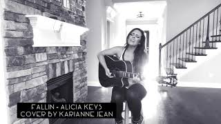 Fallin by Alicia Keys COVER by Karianne Jean