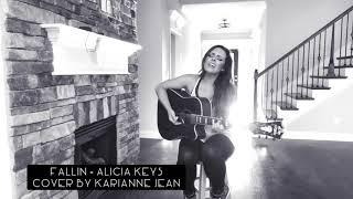 Fallin by Alicia Keys COVER by Karianne Jean