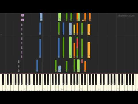 New Kids on the Block - Step by Step (Piano Tutorial) [Synthesia Cover]