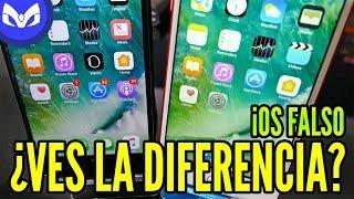iOS CLON VS iOS REAL DIFERENCIAS  iPhone 7 PLUS FALSO