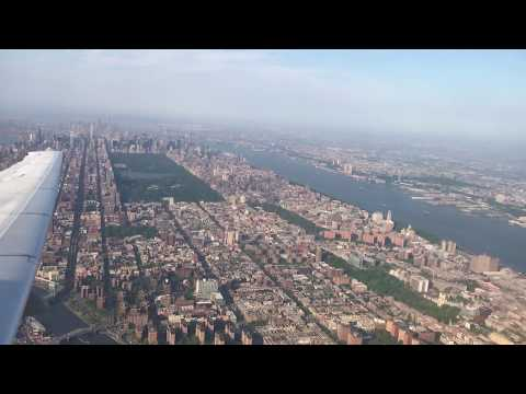 New York, New York - Takeoff from LaGuardia Airport HD (2017)