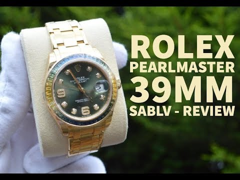 Best Rolex Pearlmaster 39mm – Yellow Gold Rolex Review