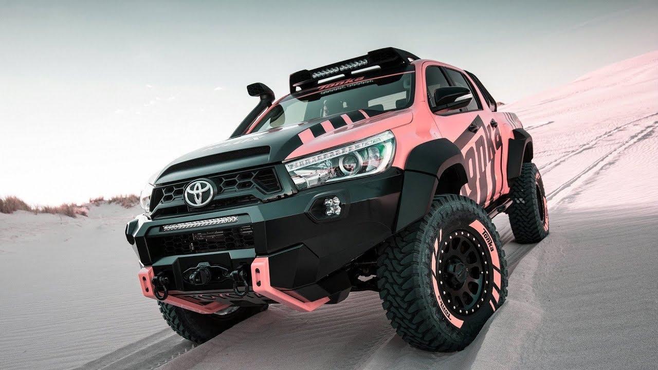 Toyota HiLux Tonka 2018 is customized - YouTube