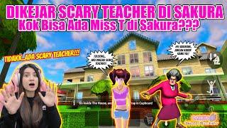 DIKEJAR-KEJAR SCARY TEACHER DI RUMAHNYA!! GAWAT...NGERI BANGET!! SAKURA SCHOOL SIMULATOR - PART 489 screenshot 2