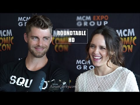 MCM London 2017  Luke Mitchell, Rebecca Breeds Agents of SHIELD, Blindspot, The Originals
