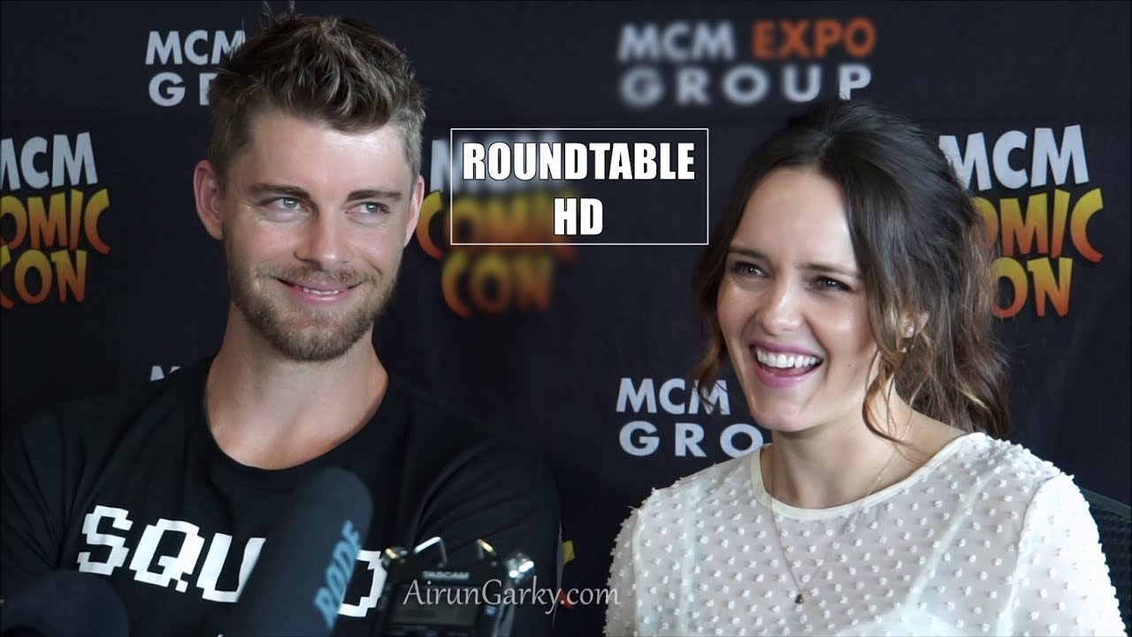 Mcm London 2017 Luke Mitchell Rebecca Breeds Agents Of Shield Blindspot The Originals