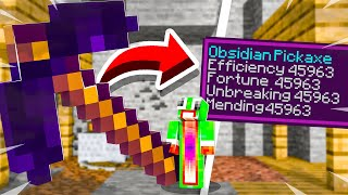 5 OBSIDIAN Pickaxes We NEED In MINECRAFT!