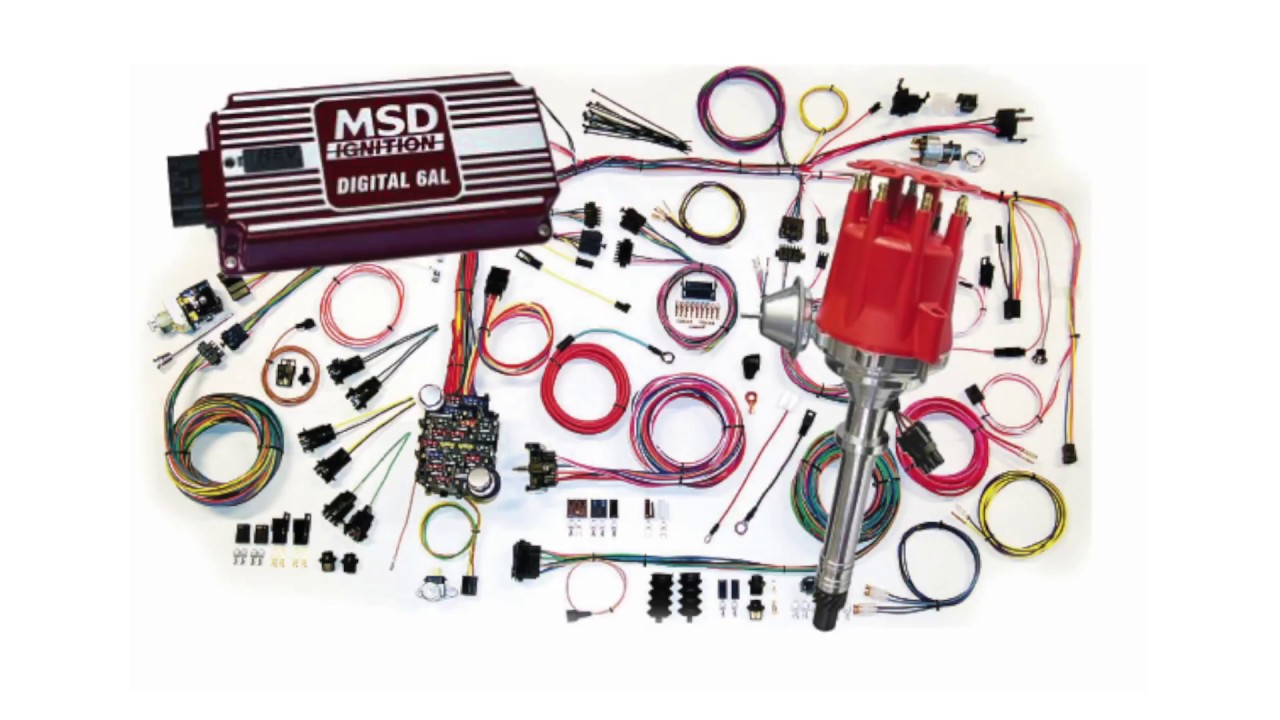 How to Install MSD Ready-To-Run and 6AL Ignition Systems Mallory Ignition Coil Wiring Diagram Blaster on
