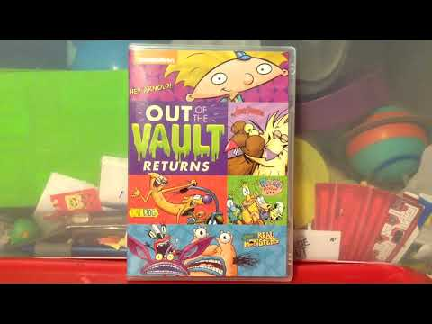 Nickelodeon Out of the Vault Returns DVD Review