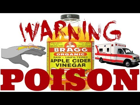 Dangers OF Apple Cider Vinegar! (What They Won't Tell You)2018