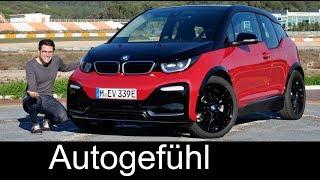 BMW i3s FULL REVIEW new sports EV 2018 i3 Facelift - Autogefühl