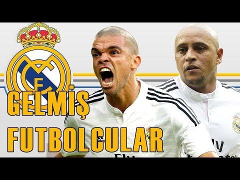 Real Madrid Formasını Giymiş Türkiye'ye Gelen 15 Futbolcu