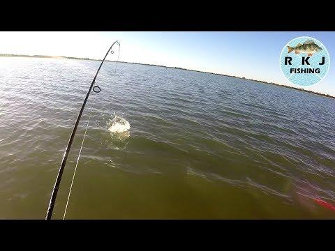 Jigglefishing For Redfin At Greens Lake