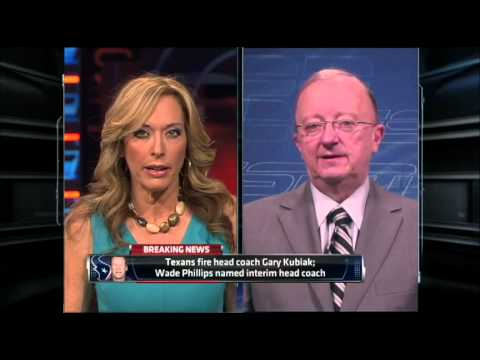 Texans Fire Gary Kubiak - SportsCenter (12-06-2013)