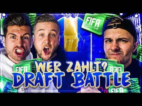 Wer ZAHLT die 1. TOTS LIGHTNING-ROUND 😱🔥DRAFT BATTLE vs GamerBrother !! FIFA 19