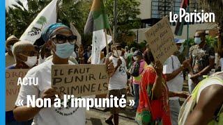 Scandale du chlordécone : les Martiniquais dans la rue pour « reprendre le combat »