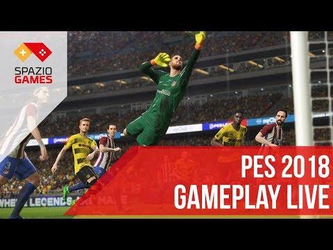 PES 2018 in diretta a partire dalle 16:00 (11/09/2017)