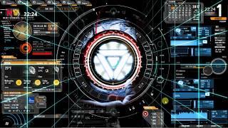 NEW Desktop Iron Man Jarvis 4.0 + Iron Man Mark 10 System FOR PC