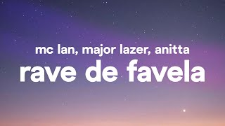 Download MC Lan, Major Lazer, Anitta - Rave De Favela (Letra / Lyrics)