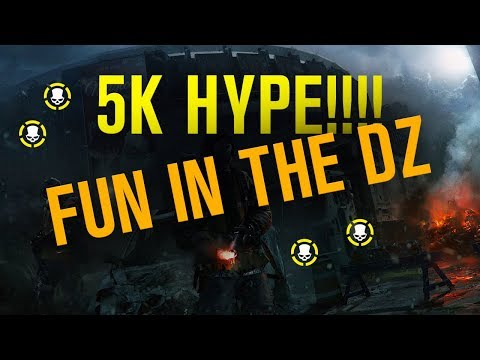 LIVESTREAM: 5K HYPE!!! DZ FUN - XBOX ONE (The Division)