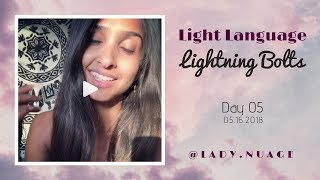 Light Language - Lady Nuage - Lightning Bolt #5