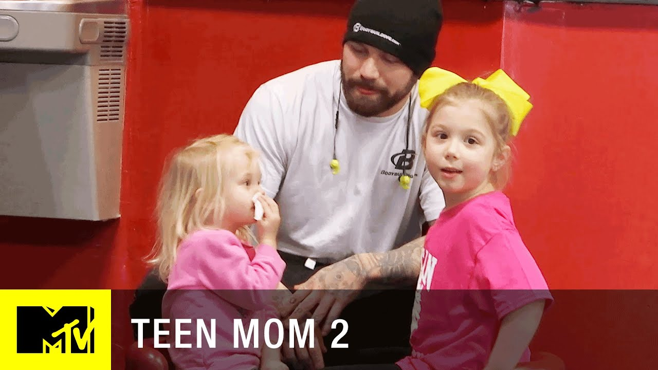 Teen Mom 2 Season 7  Aubree Asks Adam About The Father