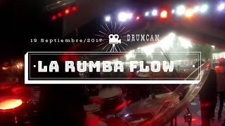 Huachi - La Rumba Flow (Franco Arancibia DrumCam) Fonda Parque O`Higgins 2017