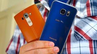 LG G4 vs Galaxy S6: Versatility vs Virtuosity