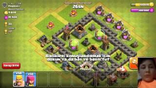 Vidio cekmeye basladim - clash of clans:Bolum-1