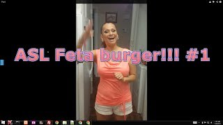 Asl How To Save Money And Make Gluten Free Feta Burger #1