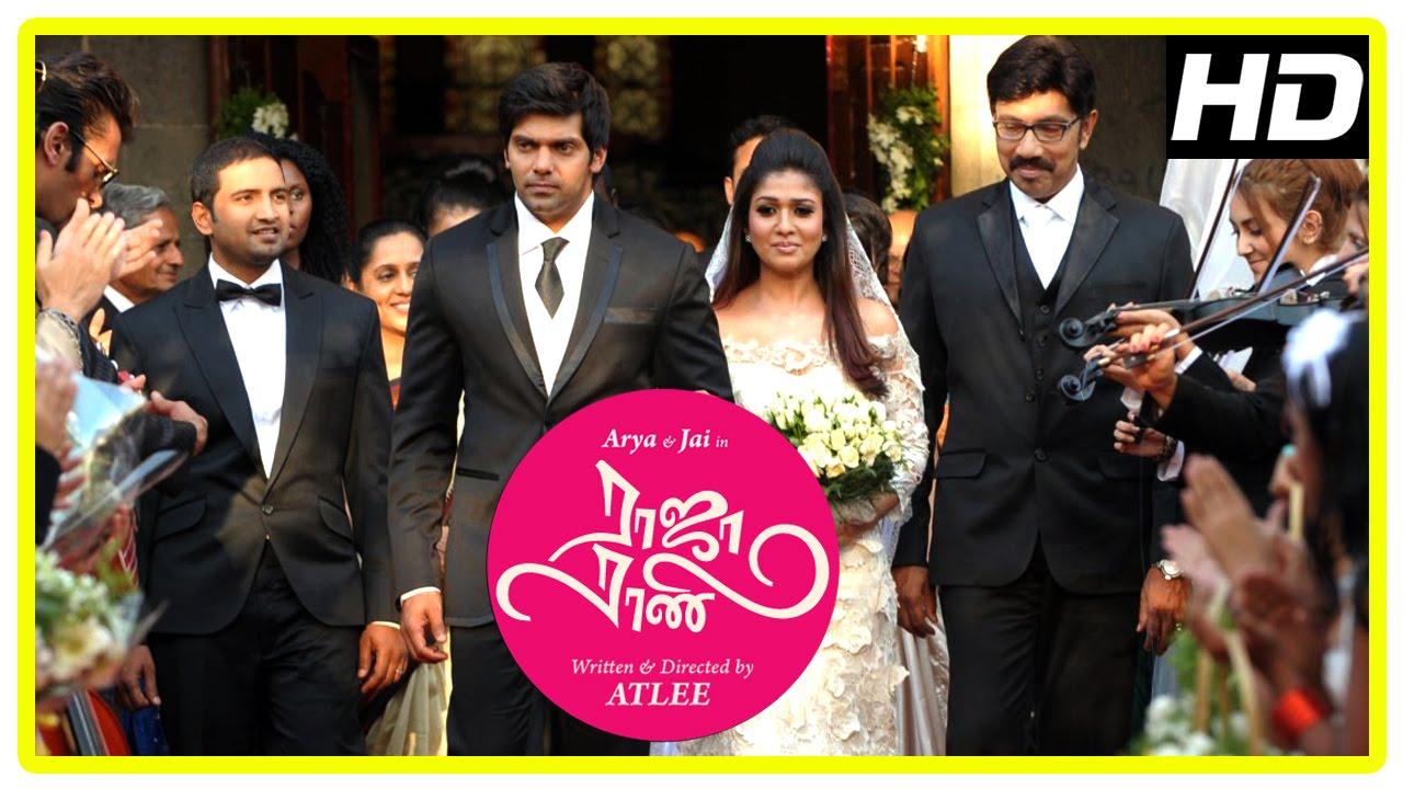 Download Raja Rani Tamil Movie Scenes   Title Credits   Arya weds Nayanthara   Sathyaraj   Santhanam