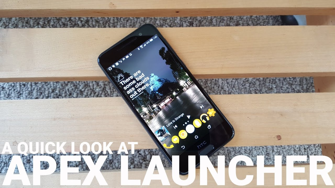 theming with apex launcher android central