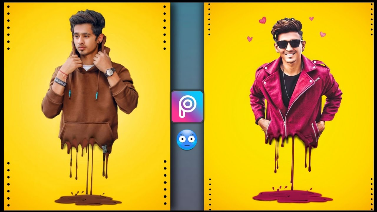 New Picsart Dripping Effect | Picsart Editing New Style | Xyaa Edits