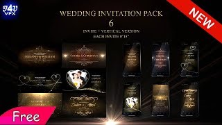 Wedding Invitation After Effects Project Template Free Download