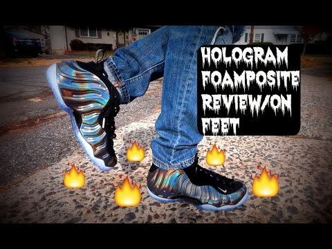 on sale b0779 0fc35 Nike Air Foamposite One Hologram Review/On Feet 2015 HD