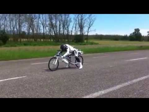 Watch This Rocket-Powered Bicycle Hit 163 MPH