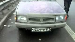 Чистые номера и фары на москвиче
