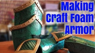 Making Craft Foam Armor Part 1
