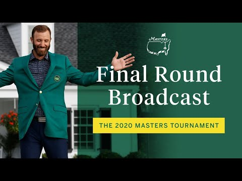 2020 Masters Tournament Final Round Broadcast