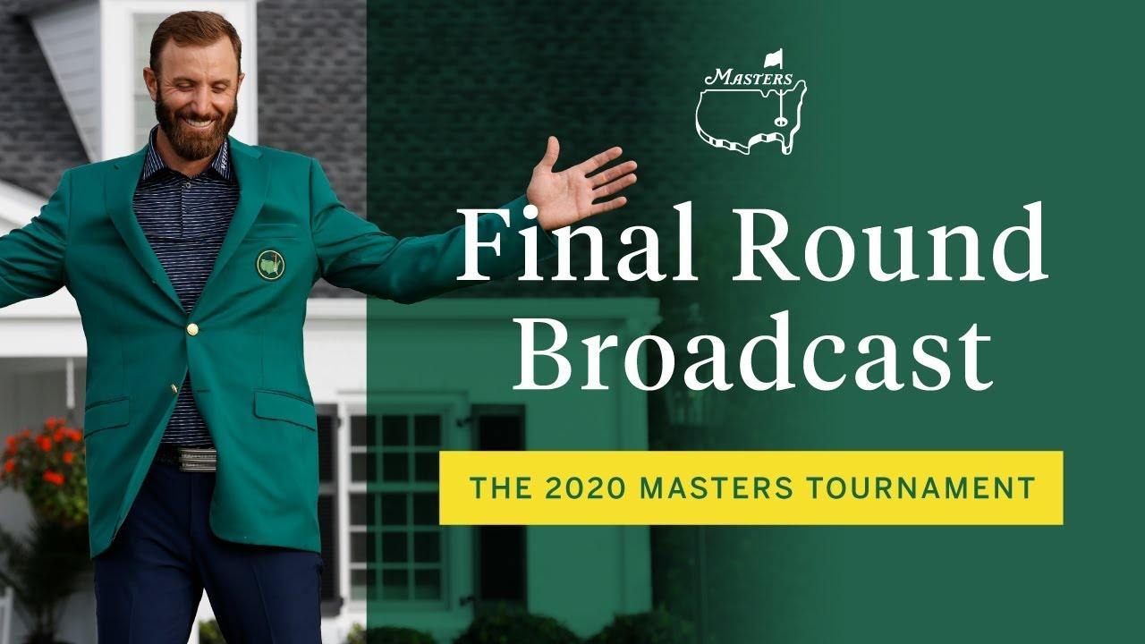 Download 2020 Masters Tournament Final Round Broadcast