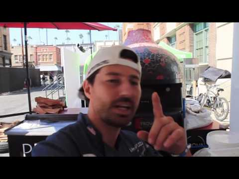 making traditional neapolitan pizza at PARAMOUNT PICTURES